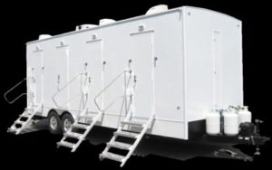 OIL FIELD TRAILERS HOME EXTERIOR RESTROOMS